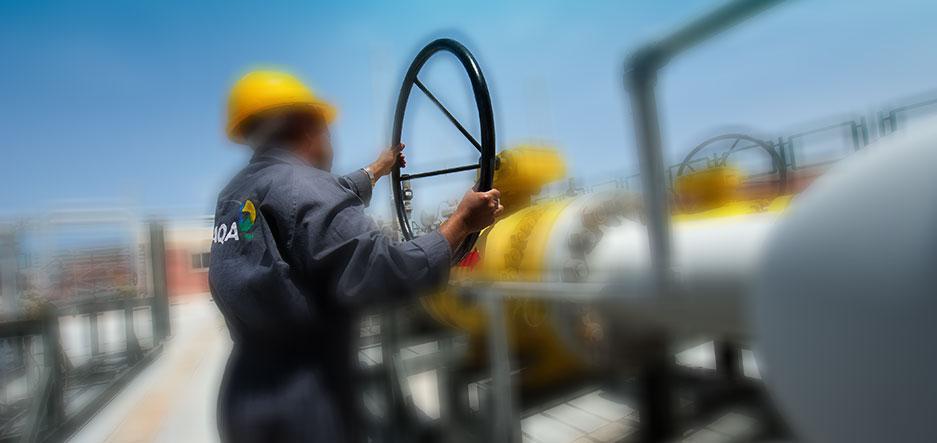 تزويد محطات توليد الطاقة